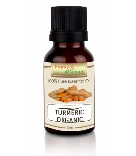 Happy Green ORGANIC Turmeric Essential Oil - Minyak Kunyit
