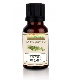 Happy Green ORGANIC Tea Tree Essential Oil - Minyak Tea Tree Murni Natural
