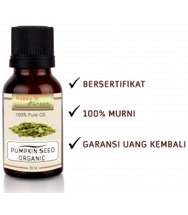 Happy Green ORGANIC Pumpkin Seed Oil - Minyak Labu Kuning