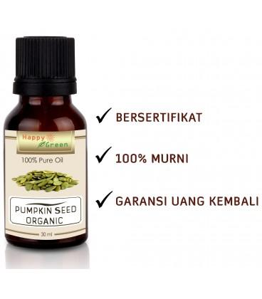 Happy Green ORGANIC Pumpkin Seed Oil - Minyak Labu Kuning