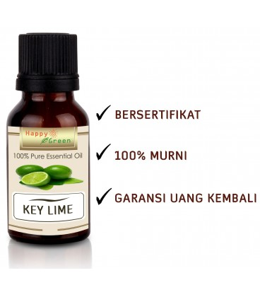 Happy Green Key Lime Essential Oil  - Minyak Jeruk Key Lime