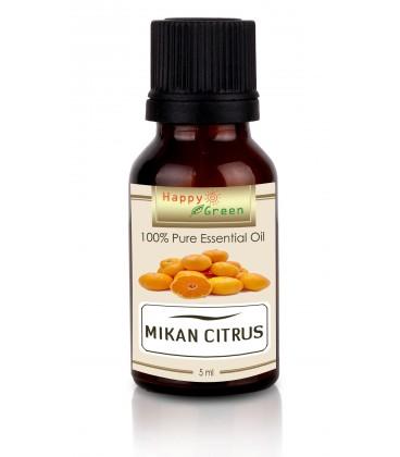 Happy Green Mikan Essential Oil (5ml) - Jeruk Jepang Mikan Murni