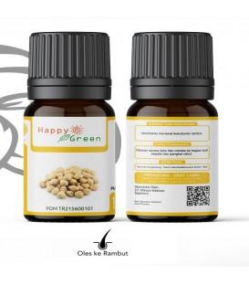 Happy Green CandleNut/ Kukui nut Oil (80 ml) - Minyak Kemiri