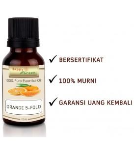 Happy Green Orange Essential Oil (5 Fold) - Minyak Kulit Jeruk Oren