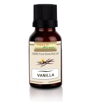 Happy Green Vanilla Essential Oil (10 ml) - Minyak Panili
