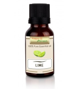 Happy Green Lime Essential Oil (10 ml) - Minyak Jeruk Nipis