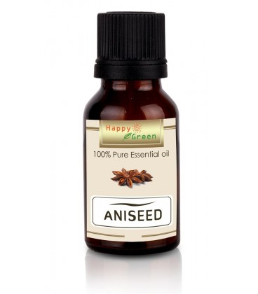 Happy Green Aniseed Essential Oil (10 ml) - Minyak Biji Adas