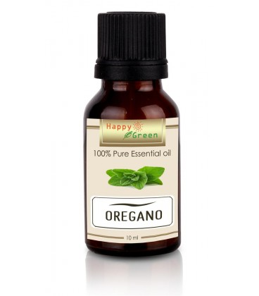Happy Green Oregano Essential Oil (10 ml) - Minyak Oregano