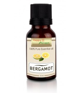Happy Green Bergamot Essential Oil (10 ml) - Minyak Jeruk Bergamot