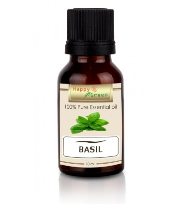 Happy Green Basil Essential Oil (10 ml) - Minyak Kemangi