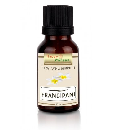 Happy Green Frangipani Essential Oil (10 ml) - Minyak Kamboja