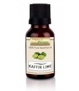 Happy Green Kaffir Lime Essential Oil (10 ml) - Minyak Jeruk Purut